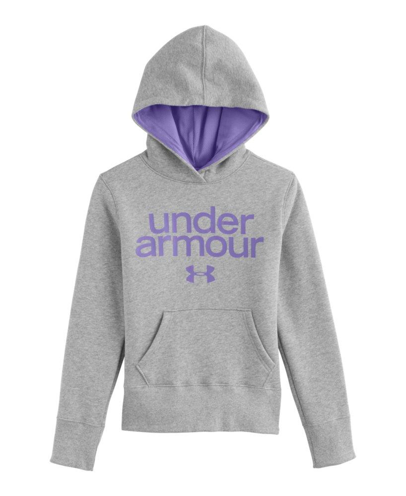 Girls Under Armour Wordmark Hoodie eBayUnder Armour Sweatshirts For Girls