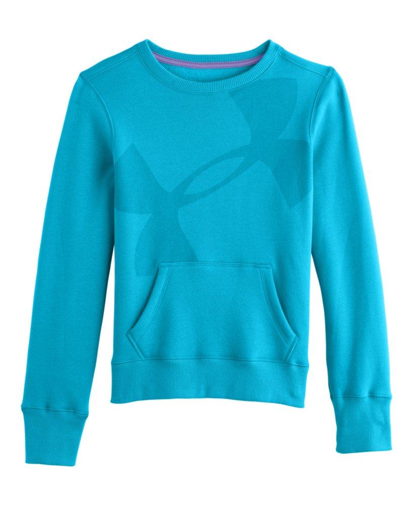 Girls Under Armour Hype Cotton Crew Sweatshirt eBayUnder Armour Sweatshirts For Girls