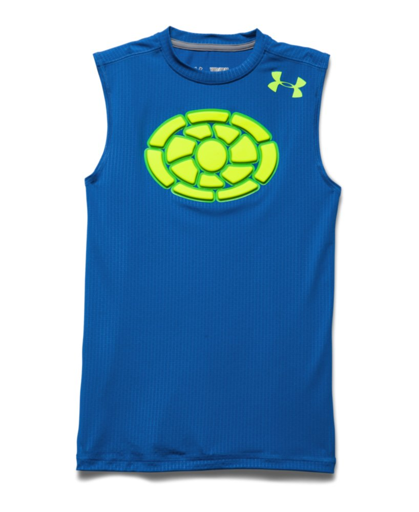 under armour boys 39 gameday armour chest sleeveless t shirt