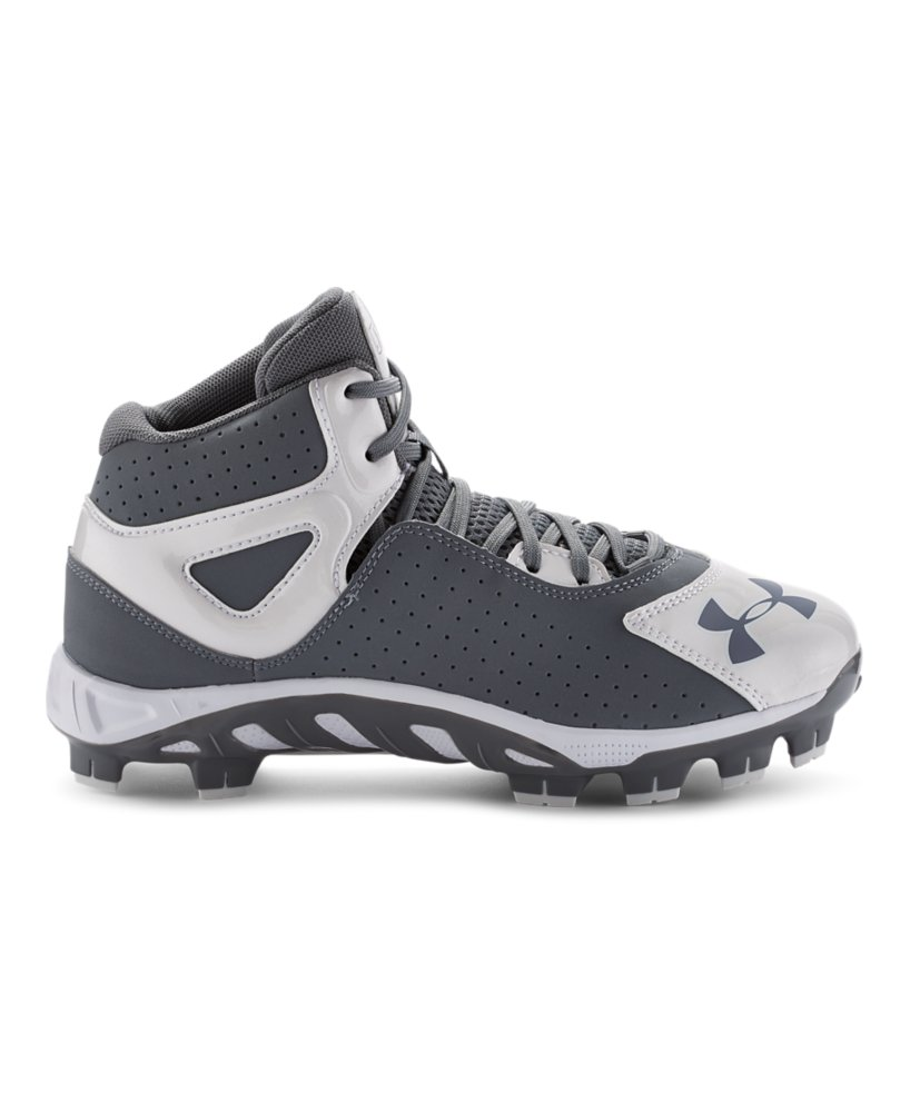Boys Under Armour Spine Heater Mid St Baseball Cleats