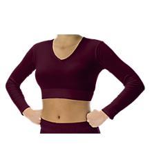V-Neck Midriff Bodysuit