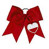 Varsity Heart Bow