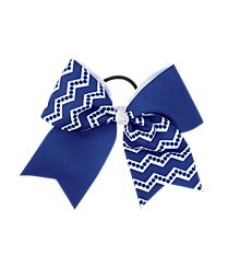 Chevron and Dot Bow