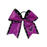 Sparkle Varsity Logo Bow