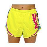 UDA Yellow & Aqua Dance Windshort