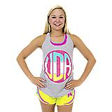 UDA Heather Monogram Tank