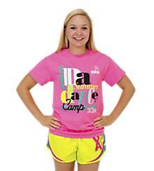 UDA Pink Summer Dance Camp Tee