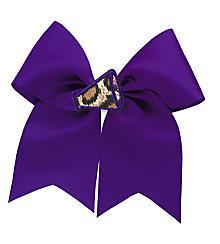 Varsity Mascot bow buddies® - Leopard Megaphone