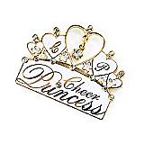 Cheer Princess Pin