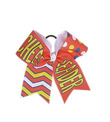 Watermelon Cheerleader Bow