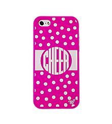 IPhone 5C Polka Dot Cheer Case