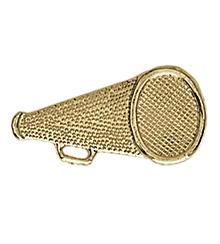 Megaphone Sport Award Pin