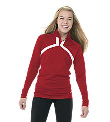 Women's Half Zip Warm Up Jacket
