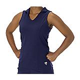 Microfiber Pique Sleeveless Polo