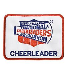NCA Cheerleader Patch