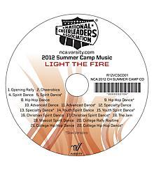 NCA 2012 Cheer Camp CD