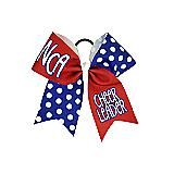 NCA Royal Polka Dot Bow