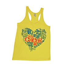NCA Yellow Heart Loose Tank