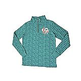 NCA Teal All Over Print Sweatshirt