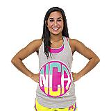 NCA Heather Monogram Tank