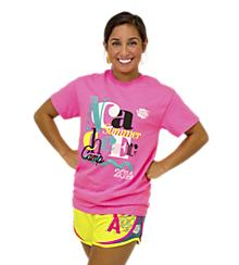 NCA Pink Summer Cheer Camp Tee