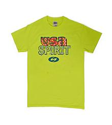 USA Yellow Spirit Tee