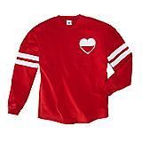 Varsity Heart Team Tee
