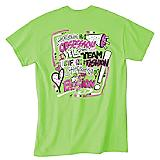 Youth Hot Green Cheer Obsession Tee