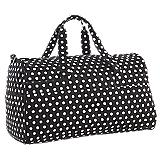Polka Dot Duffle Bag
