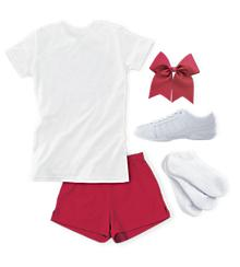 Tryout Look: Classic Crew Neck Tee and Short Set