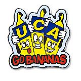 UCA Go Bananas Pin