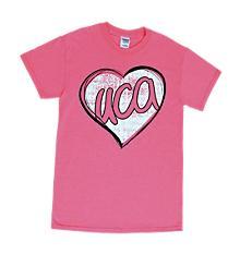 UCA Pink Heart Tee