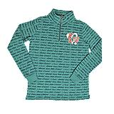 UCA Teal All Over Print Sweatshirt