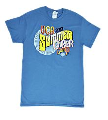 UCA Blue Summer Camp Tee