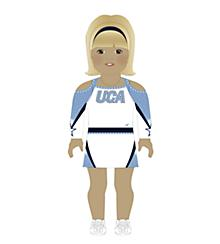 Universal Cheerleaders Association Doll Uniform Light Skin
