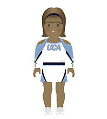 Universal Cheerleaders Association Doll Uniform Medium Skin