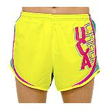 UCA Yellow & Aqua Cheer Windshort