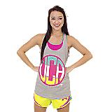 UCA Heather Monogram Tank