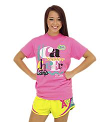 UCA Pink Summer Cheer Camp Tee