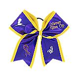 "St. Jude ""Never Give Up"" Sublimated Bow"