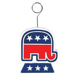 Republican Elephant Balloon Weight DEC50908EA