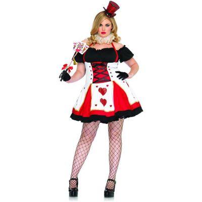 Dark Queen Adult Plus Costume