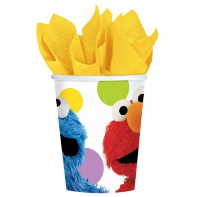 Sesame Street 9 Oz Cups 8 Per Unit