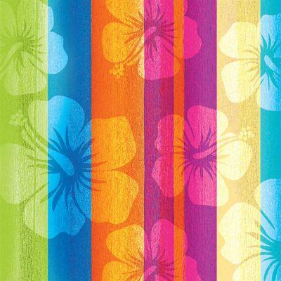 Aloha Summer Hibiscus Beverage Napkins 16 Per Pack