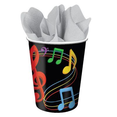 Musical Memories 9 Oz Cups - 8 Pack PAP4257CUN