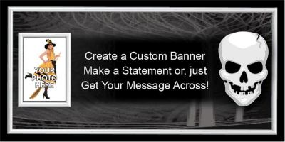 Fright Night Custom Photo Banner
