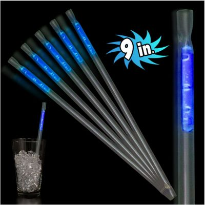 """Assorted Color Glow Straws-9""""""""- 25 Pack"""" GST9"""