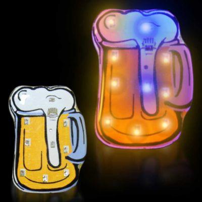 LED Beer Mug Blinky - 12 Pack BLI502DZ