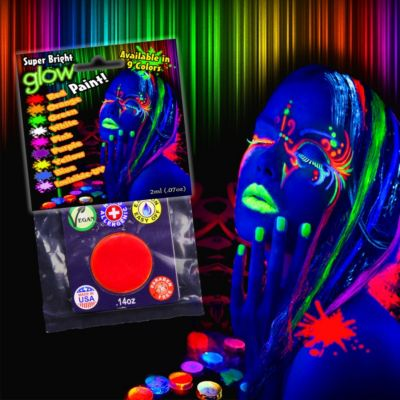 White UV Glow Paint COS04-COS047EA