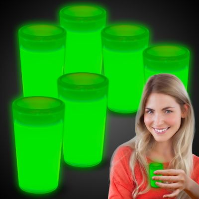 Glow Shot Glasses-6 Pack GCP-GCP158UN